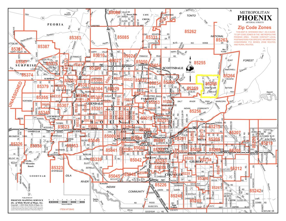 Phoenix Zip Code Map Pdf Pictures to Pin on Pinterest PinsDaddy